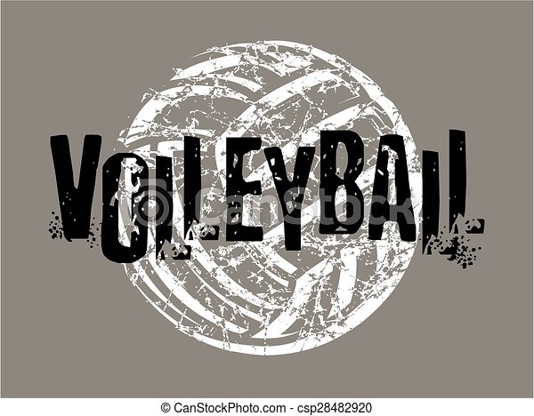Voleibol con estrés - csp28482920