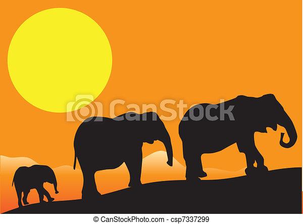 Africa - csp7337299