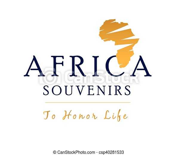 africa logo and map africa logo and drawing map