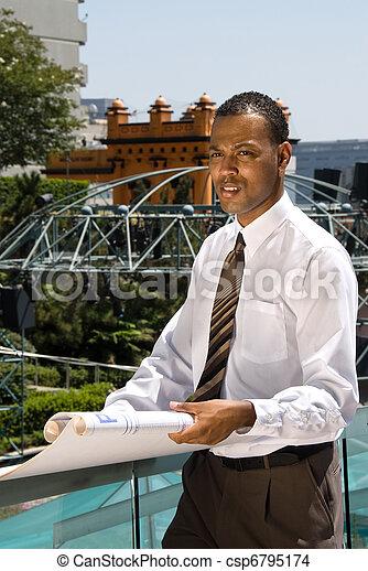 African American Architect - csp6795174