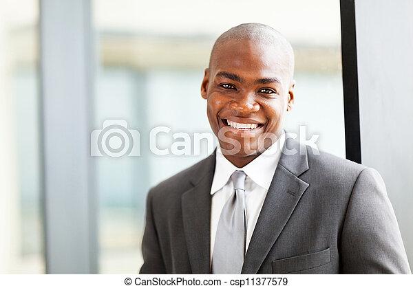 african american business executive  - csp11377579