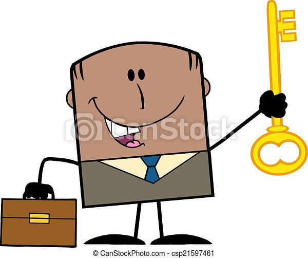 African American Businessman  - csp21597461