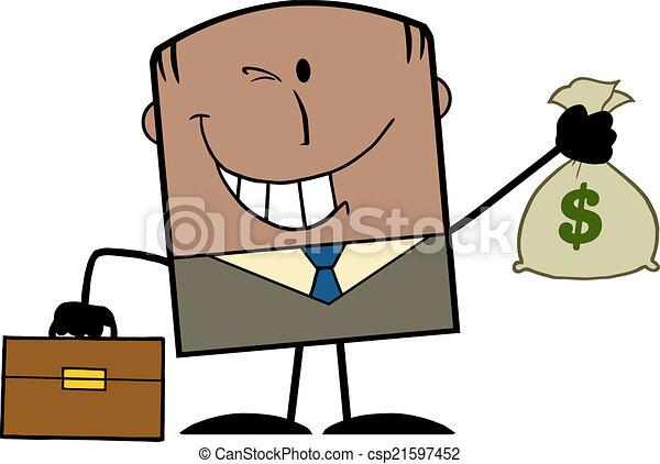 African American Businessman - csp21597452