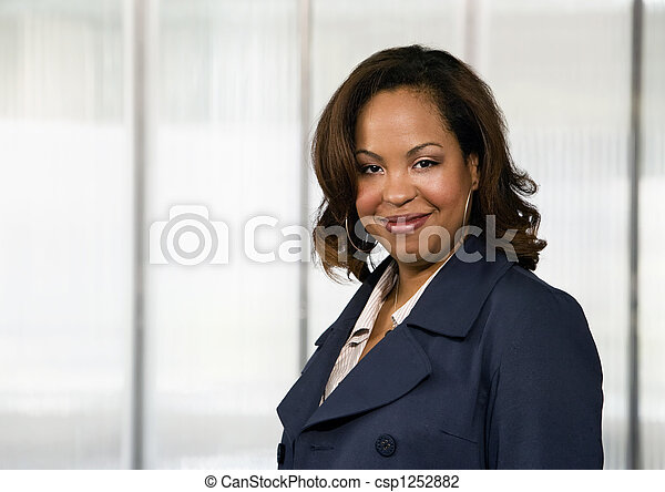 African-American Businesswoman - csp1252882