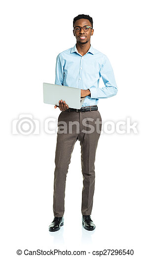 african american college student - csp27296540