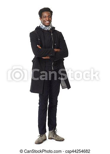 African American man. - csp44254682