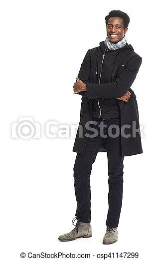 African American man. - csp41147299