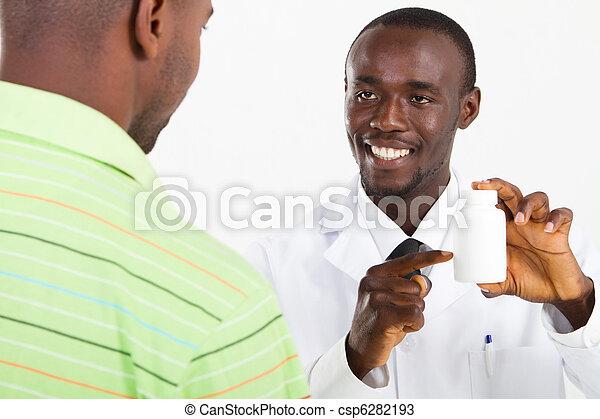 african american pharmacist - csp6282193