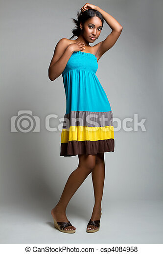 African American Woman - csp4084958