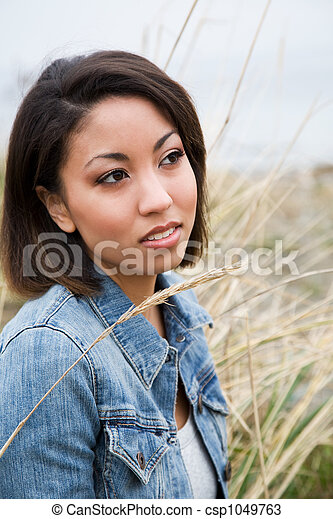 african american woman - csp1049763