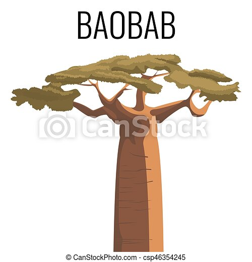 african baobab tree icon emblem with text isolated on wood sign clip art free wood sign clipart free