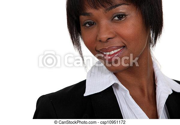 African businesswoman - csp10951172