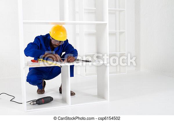 african carpenter - csp6154502