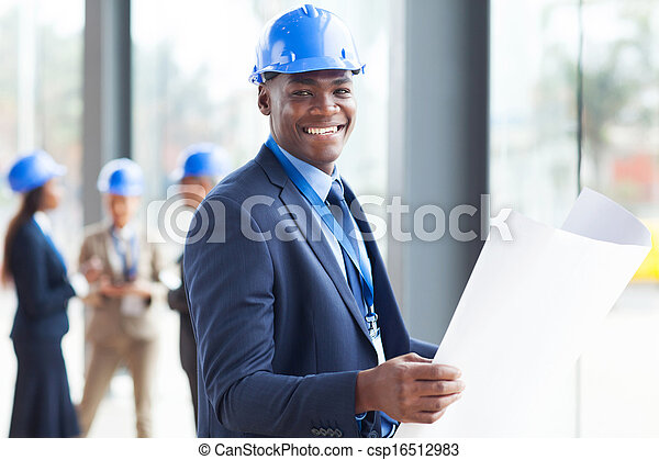 african construction engineer - csp16512983