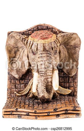 African elephant sculpture - csp26812995
