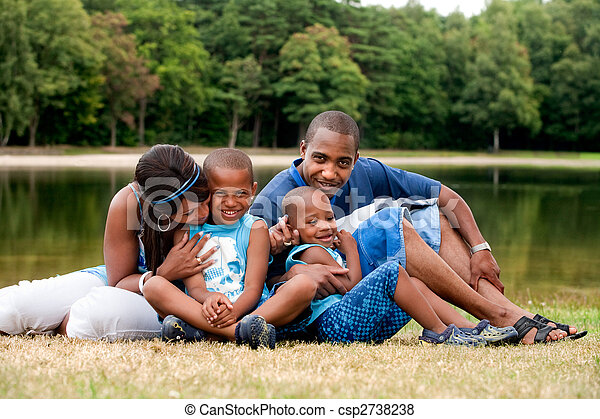 African family - csp2738238