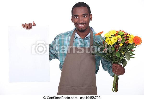 African florist - csp10458703
