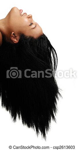 African hair beauty - csp2613603