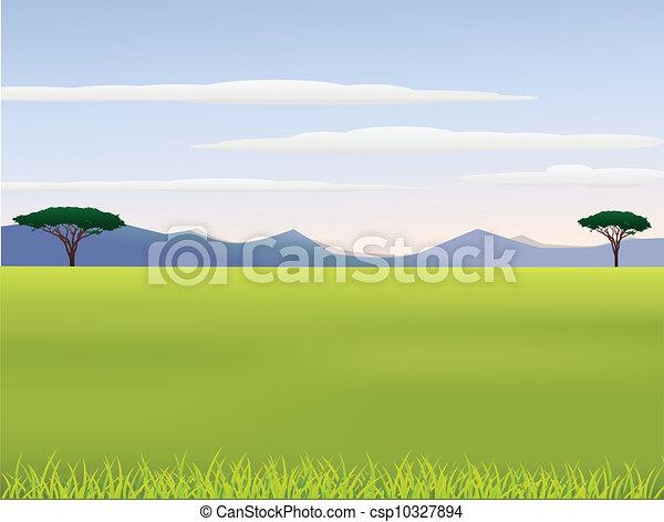 Vector illustration of african landscape eps vectors search clip african landscape vector voltagebd Choice Image
