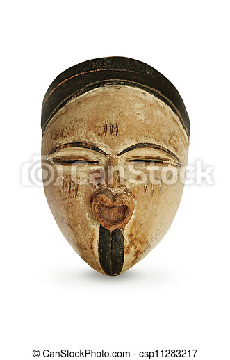 African Mask - csp11283217
