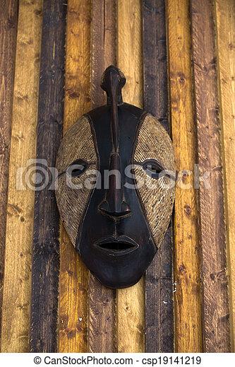 African mask - csp19141219