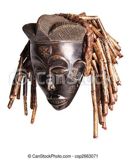 African mask - csp2663071