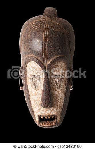 African mask - csp13428186