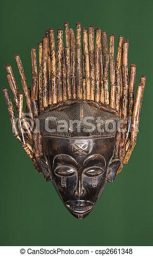 African mask - csp2661348