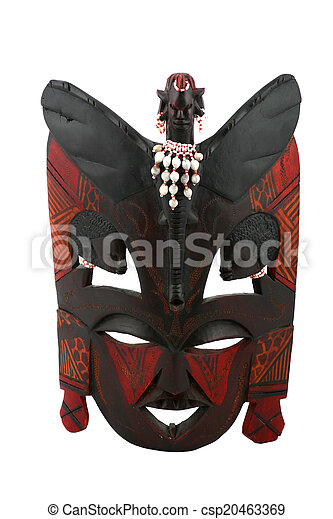 African mask - csp20463369