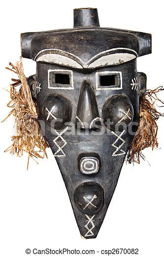 African Mask - csp2670082