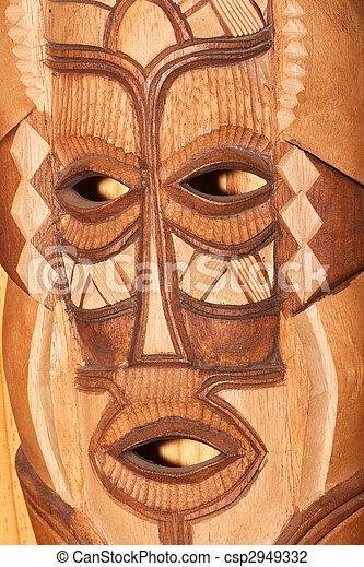 African mask - csp2949332
