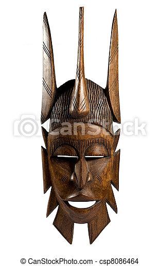 African mask - csp8086464