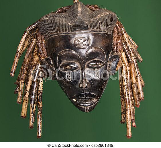 African mask - csp2661349