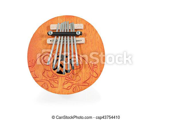 African musical instrument kalimba - csp43754410