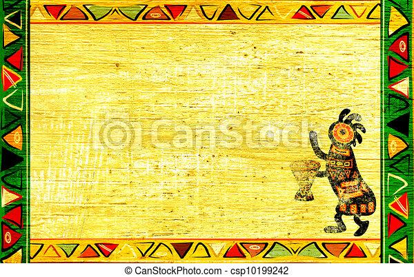 African national patterns - csp10199242