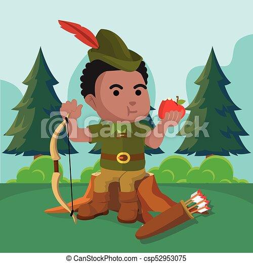 archer robin hood cartoon stock photos and images 57 archer robin