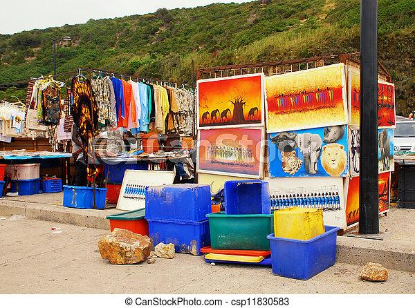African street market  - csp11830583