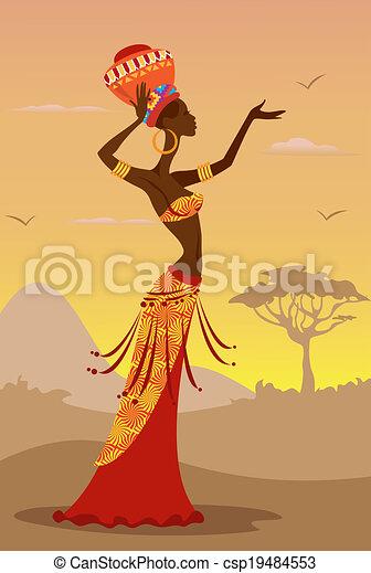 African Woman - csp19484553