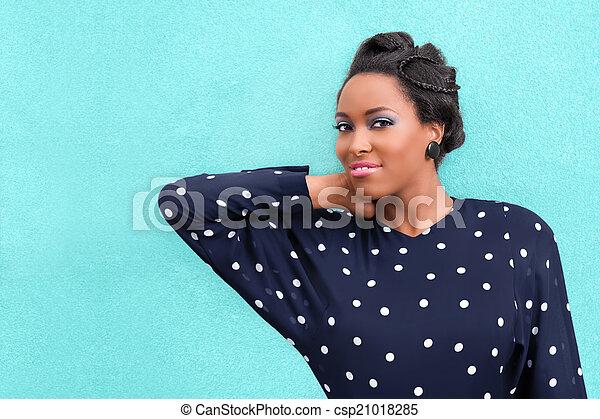 African Woman - csp21018285