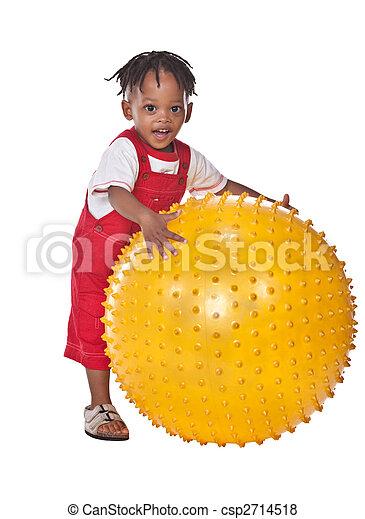 africano, bambino - csp2714518