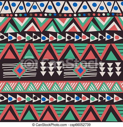 Trasfondo de motivos étnicos africanos - csp66052739