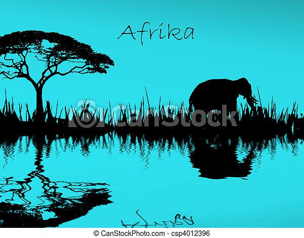 afrika - csp4012396