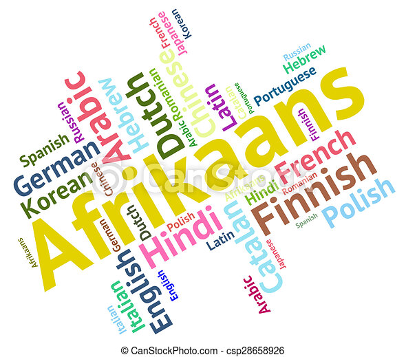 Afrikaans word represents foreign language and ... | 450 x 401 jpeg 51kB