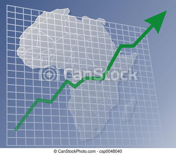 afrikas, tabelle, auf - csp0048040
