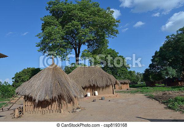 afrykanin, wieś - csp8193168