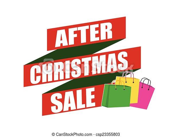 after christmas sale banner design over a white background rh canstockphoto com sale victoria's secret sale victoria