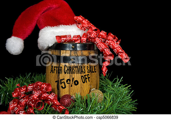 After Christmas Sale - csp5066839
