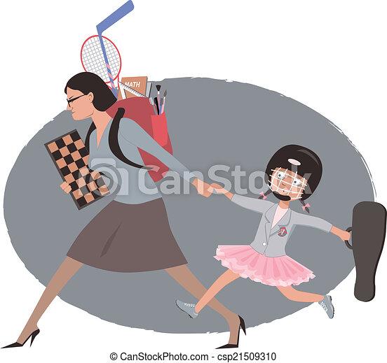 After school activities - csp21509310