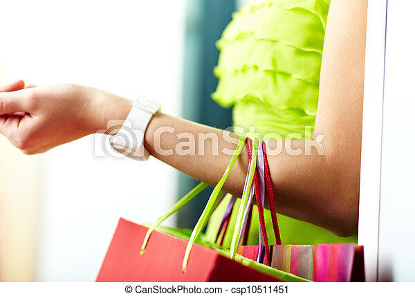 After shopping - csp10511451