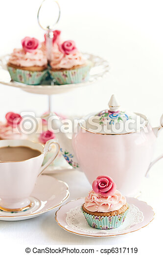 Afternoon tea - csp6317119